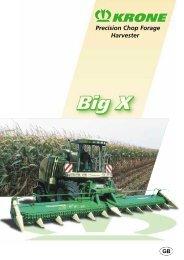 Precision Chop Forage Harvester