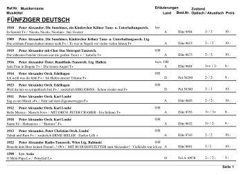 Die komplette Liste als pdf.-Datei zum runterladen - Record ...