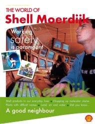 the world of Shell Moerdijk