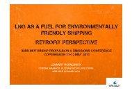 LNG as a fuel for environmentally friendly shipping ... - Wärtsilä