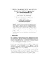 A Strategy for Finding Roots of Multivariate Polynomials with New ...