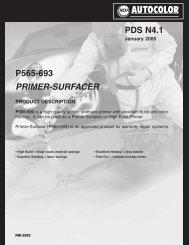 PDS N4.1 P565-693 PRIMER-SURFACER - BAPS