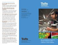 ms in biomedical sciences degree program (mbs) - Home   Tufts ...
