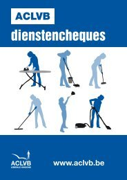 Sectorbrochure dienstencheques 2012 - Aclvb