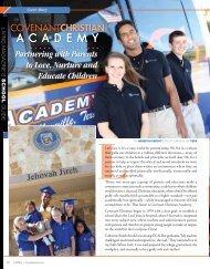 January 2011 - Covenant Christian Academy