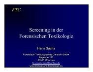 Screening in der Forensischen Toxikologie - AB Sciex