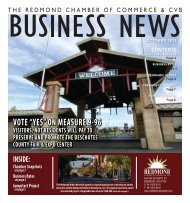 """VOTE """"YES"""" ON MEASURE 9-96 - Redmond Chamber of Commerce"""