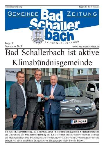 Folge 9.indd - Gemeinde Bad Schallerbach