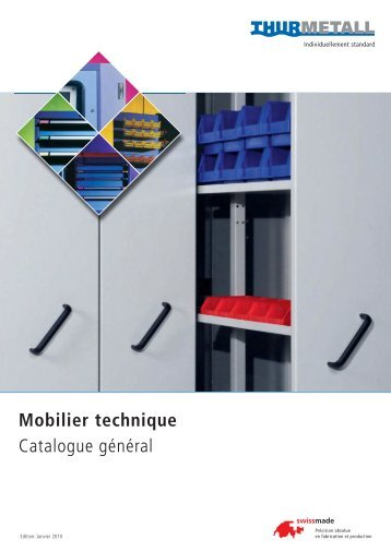 Mobilier technique Catalogue général - Luquot Industrie