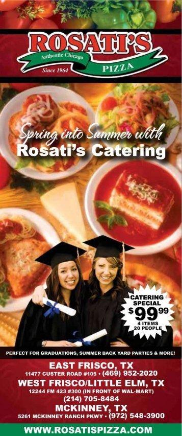 *1 - - Rosati's Pizza