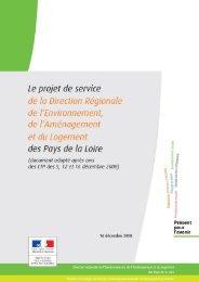 1 / 64 DREAL des Pays de la Loire – Projet de service – 16 ...