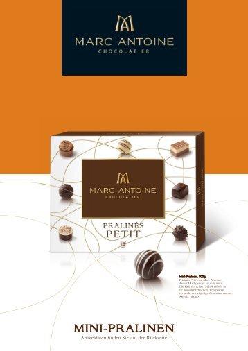 Mini-pralinen - Marc Antoine