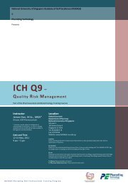ICH Q9 – Quality Risk Management - NUSAGE