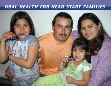 ORAL HEALTH FOR HEAD START FAMILIES - Massachusetts ...
