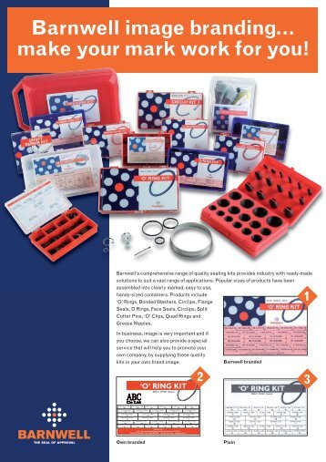 Barnwell Image Branded Kits (PDF Format) - M Barnwell Services Ltd