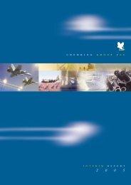 Chemring Interim for PDF.2005 - Chemring Group PLC