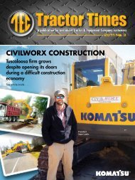 CIVILWORX CONSTRUCTION - TEC Tractor Times
