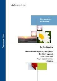 Støyrapport Heistadmoen skyte- og øvingsfelt.pdf - Forsvarsbygg