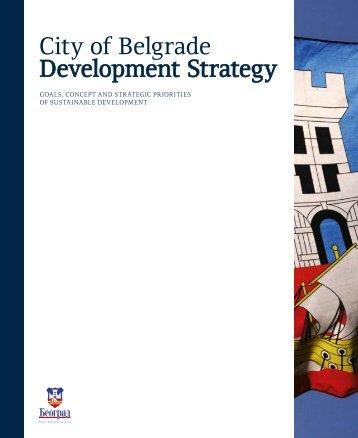 City of Belgrade Development Strategy - PALGO centar