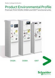 Product Environmental Profile (pdf - 680 Ko) - Schneider Electric