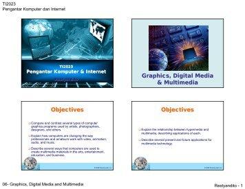 Graphics, Digital Media and Multimedia