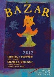 Samstag, 1. Dezember Sonntag, 2. Dezember - Rudolf Steiner Schule