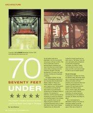 SEVENTY FEET - Lighting & Sound America