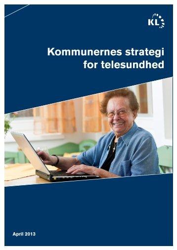 Kommunernes strategi for telesundhed - Welfare Tech