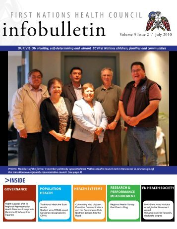 FNHC Infobulletin Volume 3 Issue 2 | July 2010 - First Nations ...