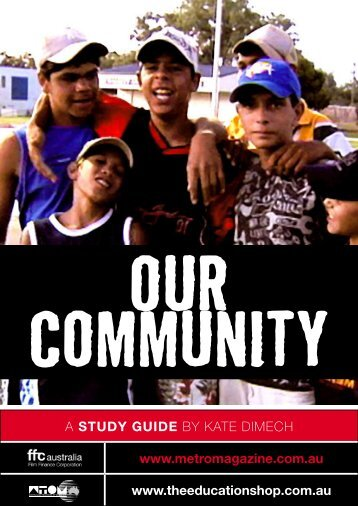 to download OUR COMMUNITY study guide - Ronin Films