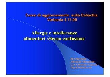 Allergie e intolleranze alimentari :eterna confusione (file pdf)