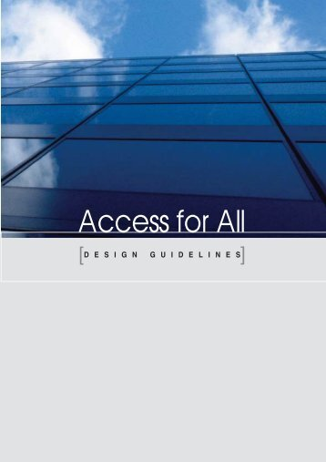 Access for All - National Commission Persons with Disability