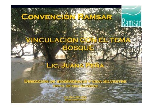 Convención Ramsar - CEDAF