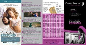Agenda 21-Kino Spezial: Das Ding am Deich Agenda ... - Casablanca