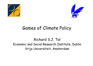 Games of Climate Policy