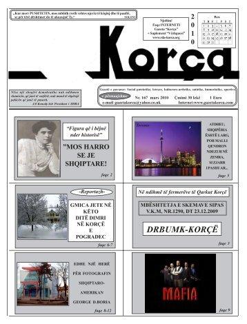 """Mars 2010 - Gazeta """"Korça"""""""