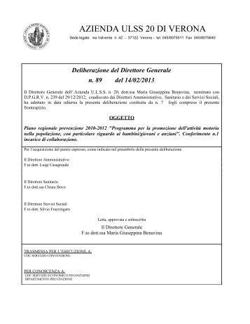 Soave Diego - ULSS 20 Verona