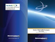 Product Name Vector VS131 GPS Compass - NavtechGPS