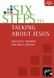 SST…Talk About Jesus-Cv8 - Matthias Media