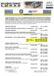 Program - ACI Sport Italia