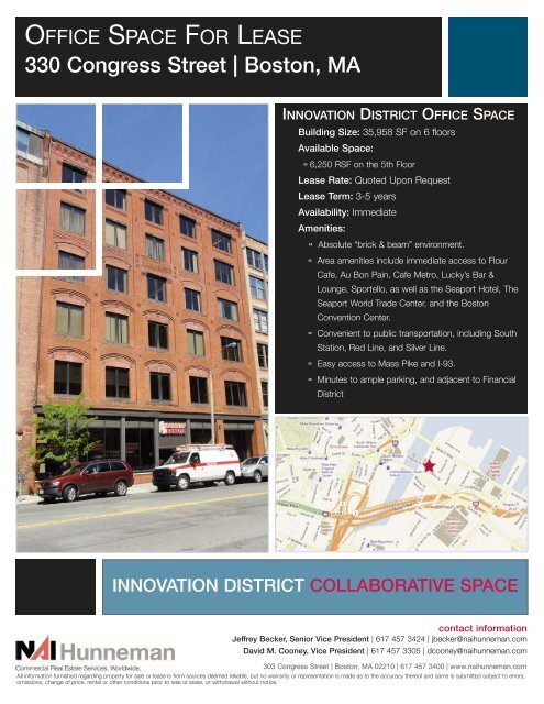330 Congress Street ... - NAI Global