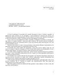Testo della circolare 14.04.97 - Regione Campania