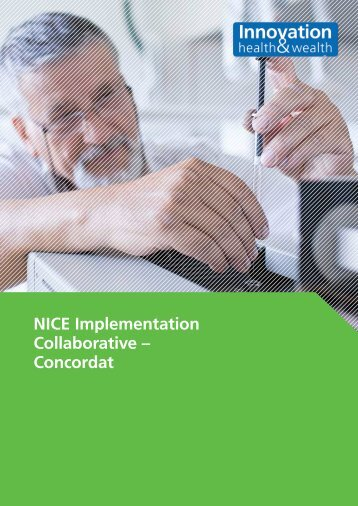 NICE Implementation Collaborative – Concordat - Academy of ...