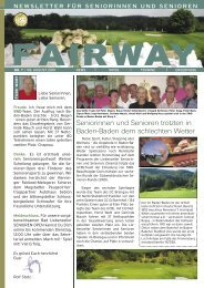 fairway - Golfclub Bad Liebenzell eV