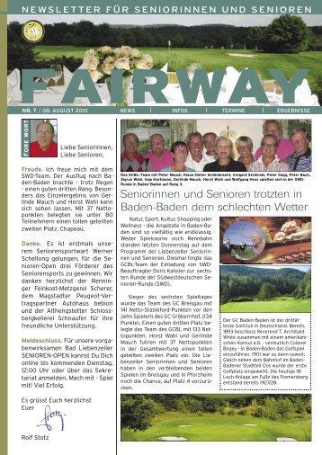fairway - Golfclub Bad Liebenzell eV