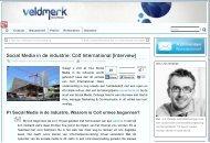 Social Media in de industrie: Colt International [Interview]