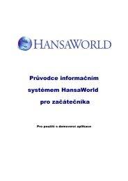 Průvodce HANSAWORLD pro začátečníka