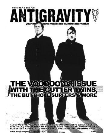 October 2008 (PDF) - Antigravity Magazine