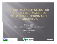 Future research needs for RVF control - OIE Africa