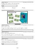 XT – LITERACY Grade 1 – Spelling – ee, ea, oo - Page 3
